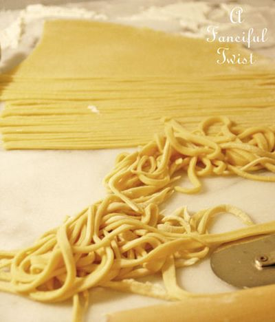 Crochet and homemade pasta 27