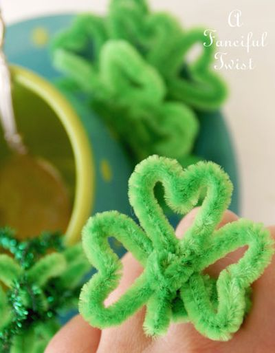 Pipe cleaner rings 6