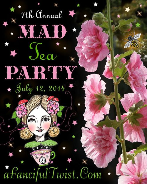 A Fanciful Twist Mad Tea Party 2014 Flyer