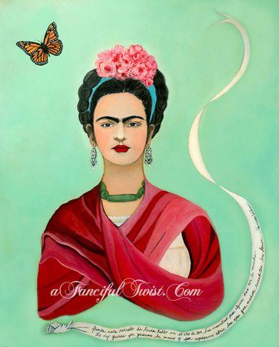 W Frida Kahlo