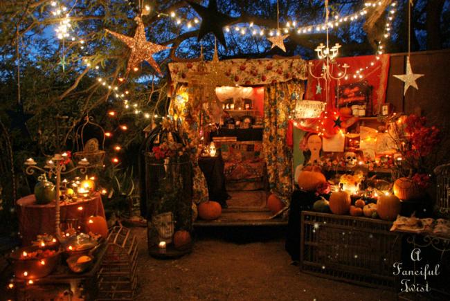 The Fortune Teller in the Gypsy Garden...