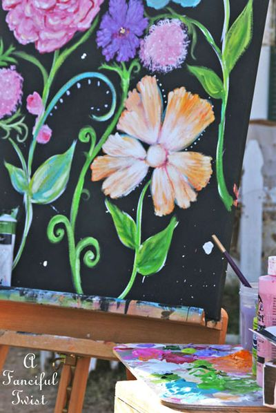 Flower painting 7