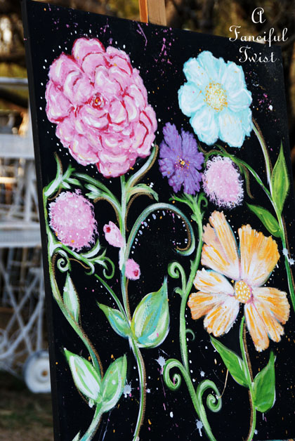 Flower painting 9