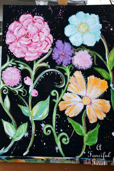 Flower painting 8