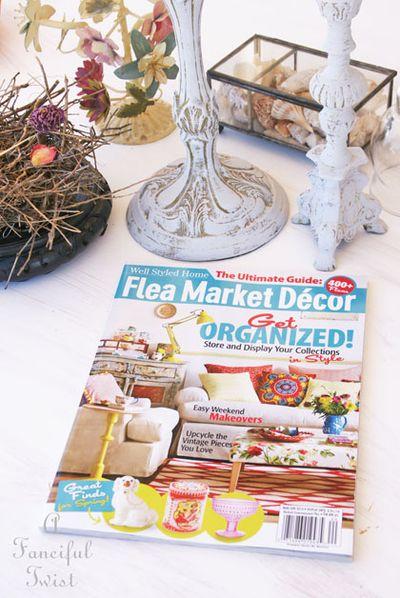 Flea market decor magazine spring 2014