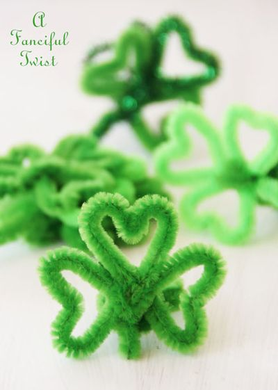 Pipe cleaner rings 4