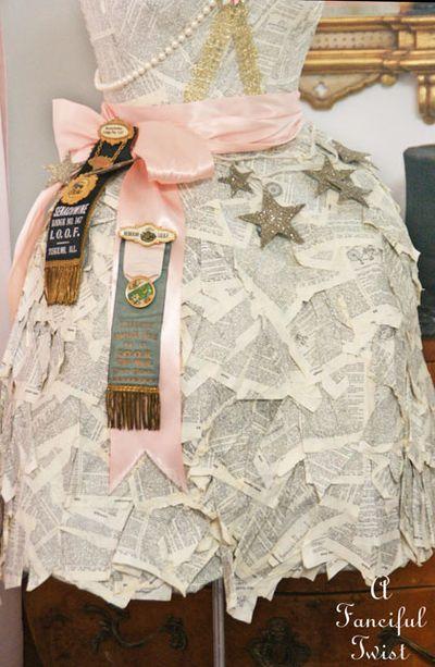 Paper dress 14