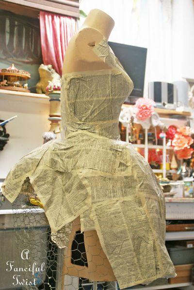 Paper dress 21