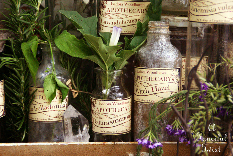 Apothecary spell potion labels 2