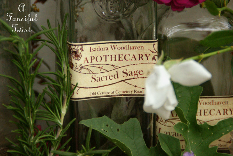 Apothecary spell potion labels 7
