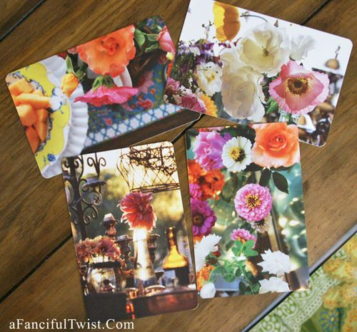 Petals and flower cards 2