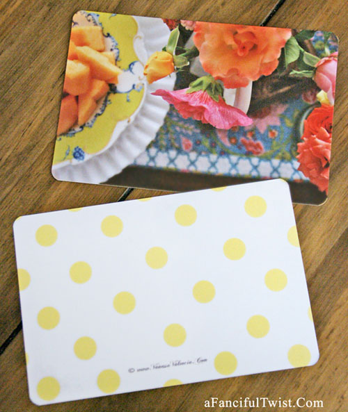 Petals and flower cards 1