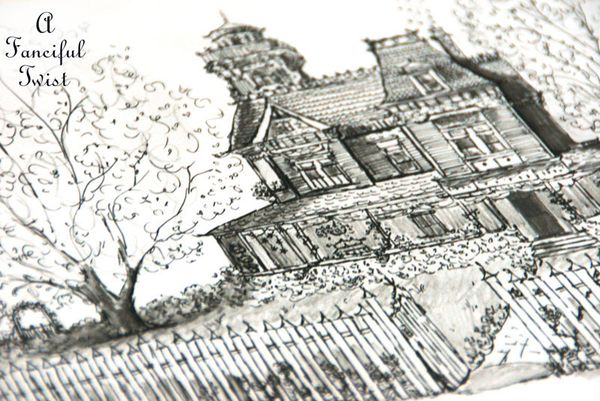 Practical Magic House illustration by Vanessa Valencia 4