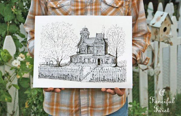 Practical Magic House illustration by Vanessa Valencia 6