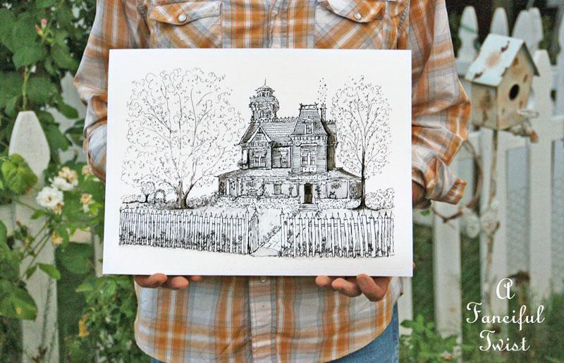 Practical Magic House illustration by Vanessa Valencia 6