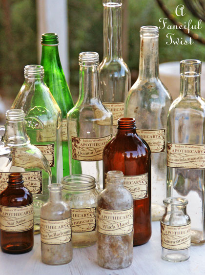 Apothecary spell potion labels 25