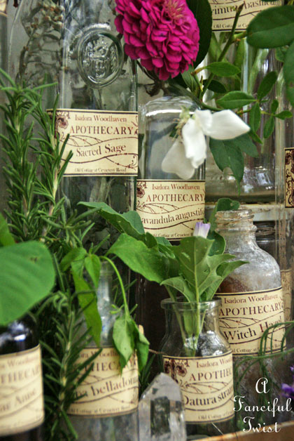 Apothecary spell potion labels 27