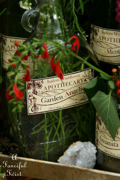Apothecary spell potion labels 13