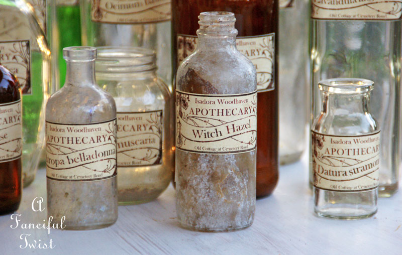 Apothecary spell potion labels 24