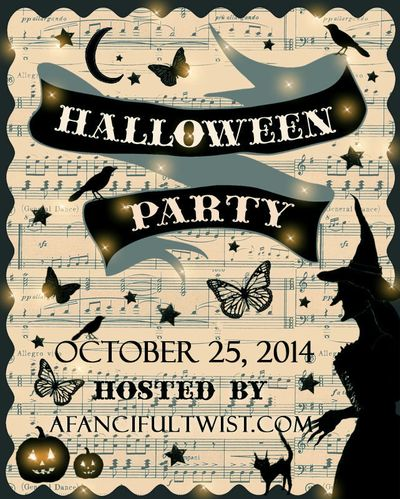 A Fanciful Twist Halloween Party 2014 Flyer
