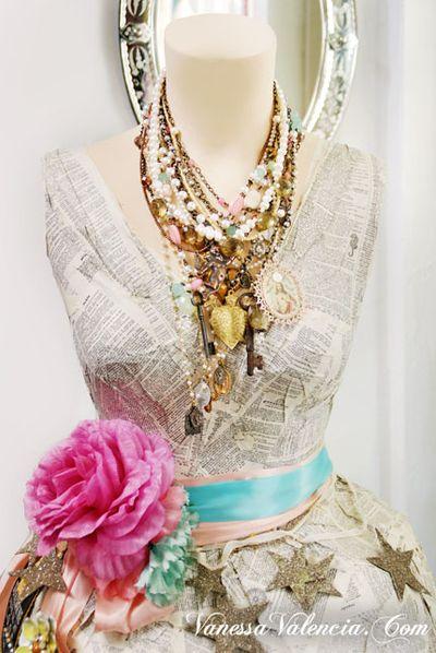 Vanessa Valencia Jewelry Pearls gems and Vintage bits 7