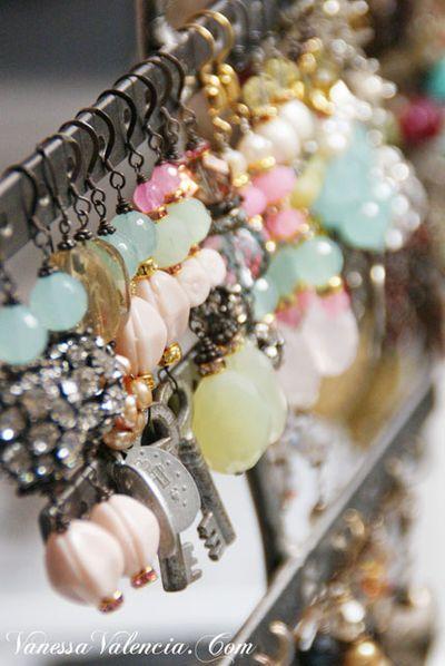 Vanessa Valencia Jewelry Pearls gems and Vintage bits 10