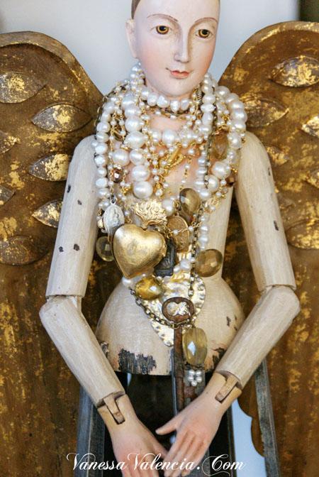 Vanessa Valencia Jewelry Pearls gems and Vintage bits 2