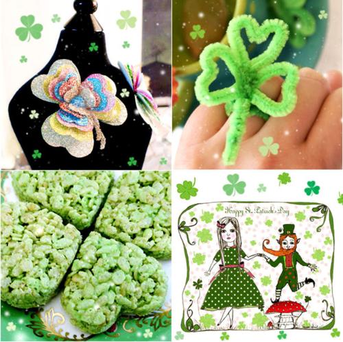 St Patricks Day Tutorials and Freebies