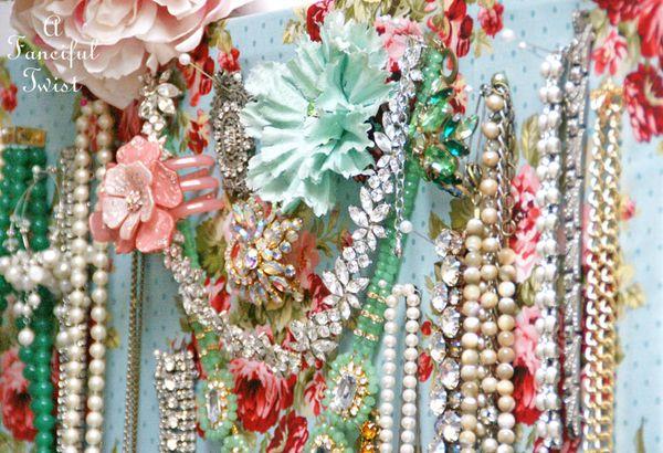 Jewelry pin board 7