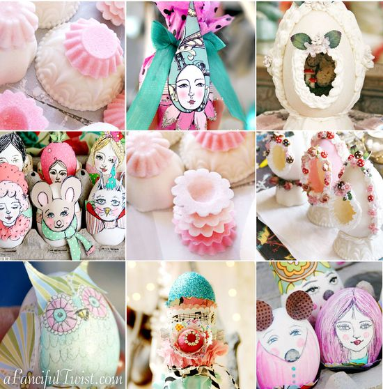 Fanciful Easter Freebies and Tutorials for you