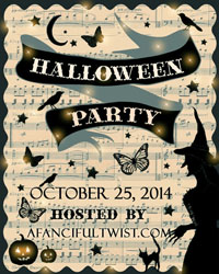 Halloween party 2014 button