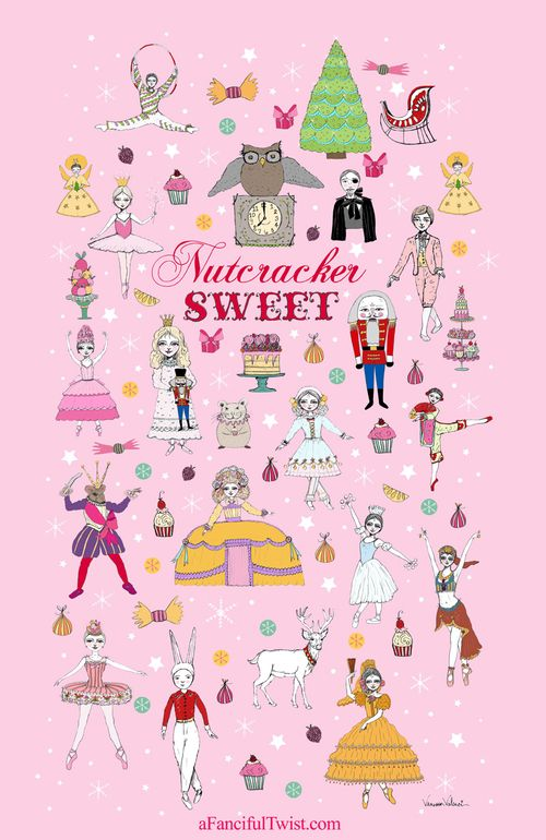 Nutcracker Sweet Poster by Vanessa Valencia