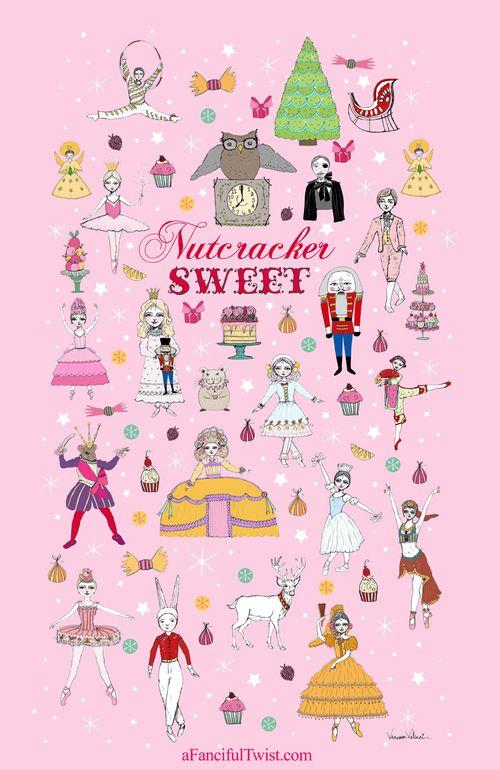 Nutcracker Sweet Poster by Vanessa Valencia