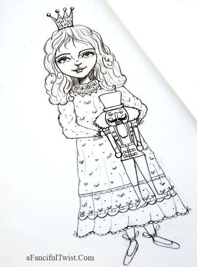 Nutcracker drawings 2