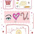 Bake sew sweet Valentine's day printable