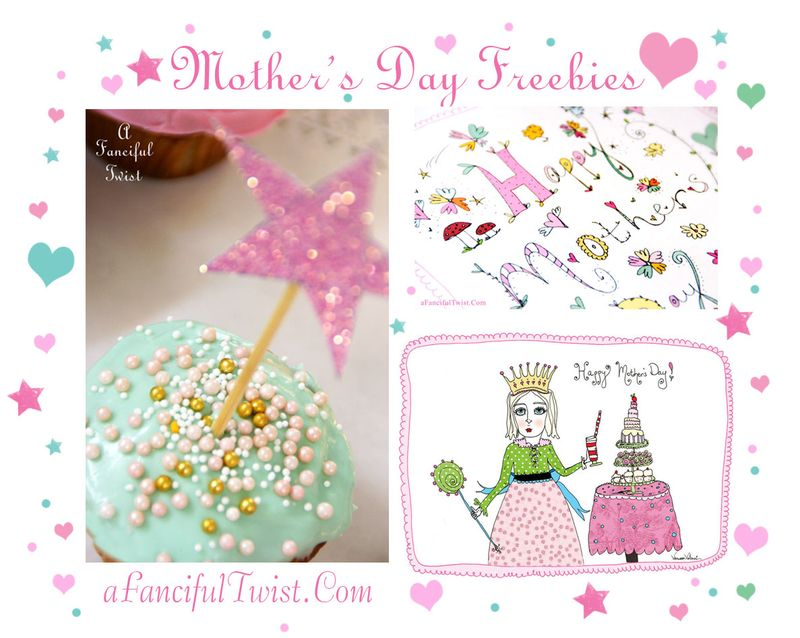 Mother's day freebies
