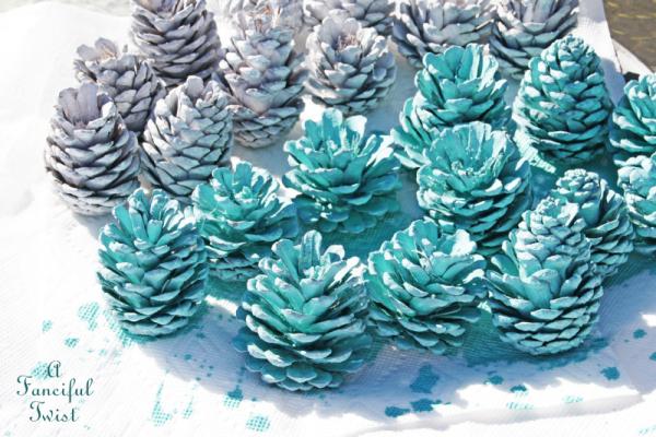 Pine cone craft 4a