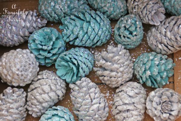 Pine cone craft 7a