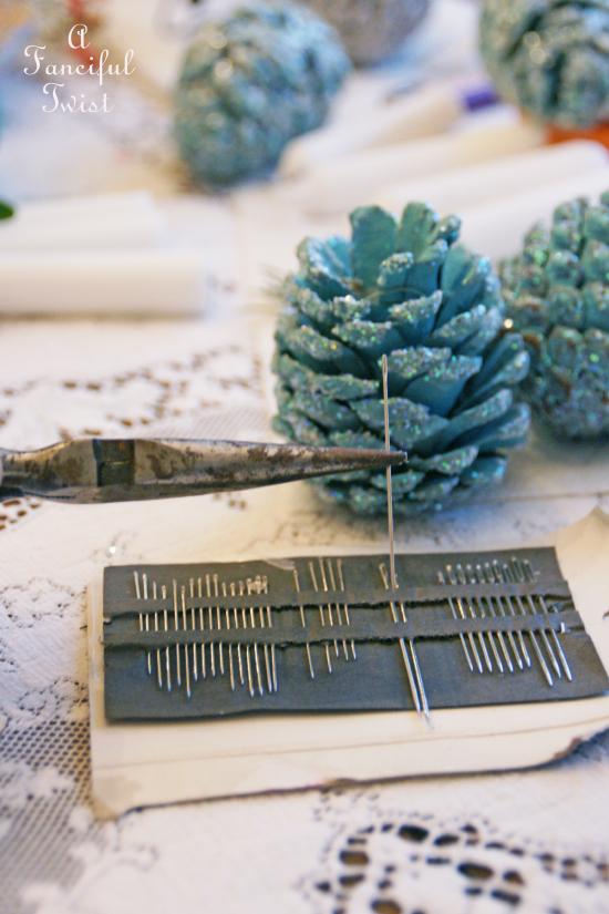 Pine cone craft 8a