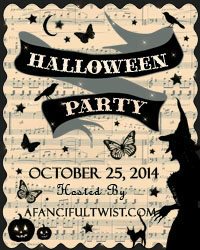 A Fanciful Twist Halloween Party 2014 button