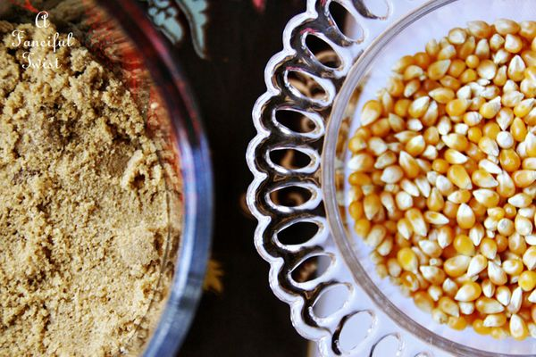 Caramel corn 1
