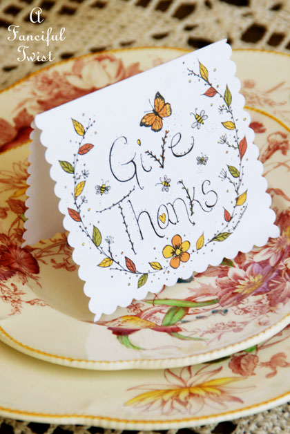 Give thanks 22