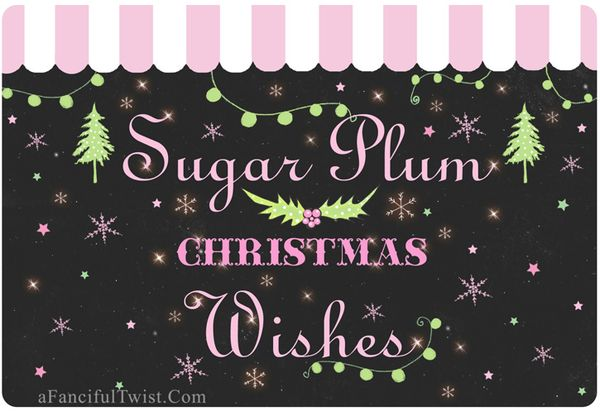 Sugar plum wishes a