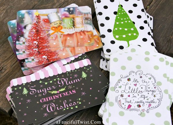Christmas Cards A Fanciful Twist 1