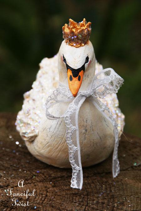 Swan greay ribbon 3