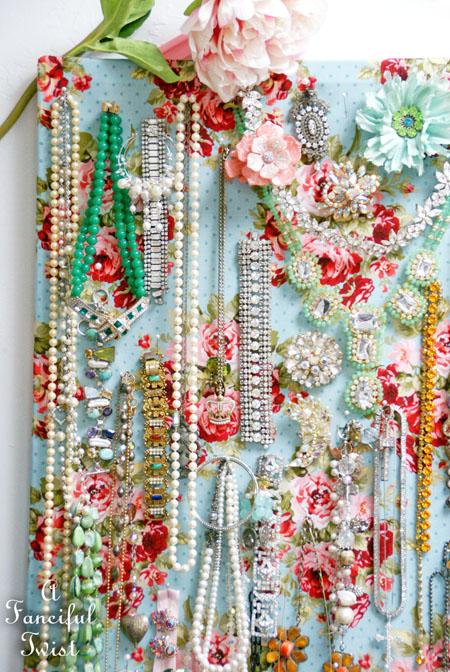 Jewelry pin board 9