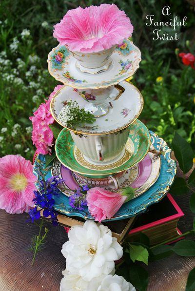 Mad tea party invite 9