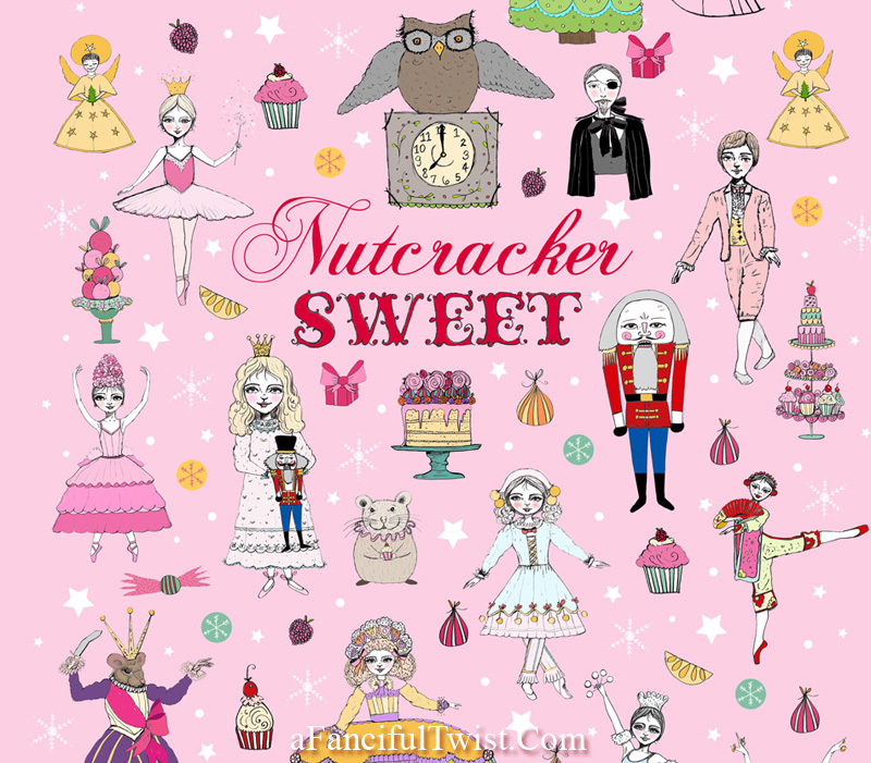 Nutcracker Sweet Poster by Vanessa Valencia upclose