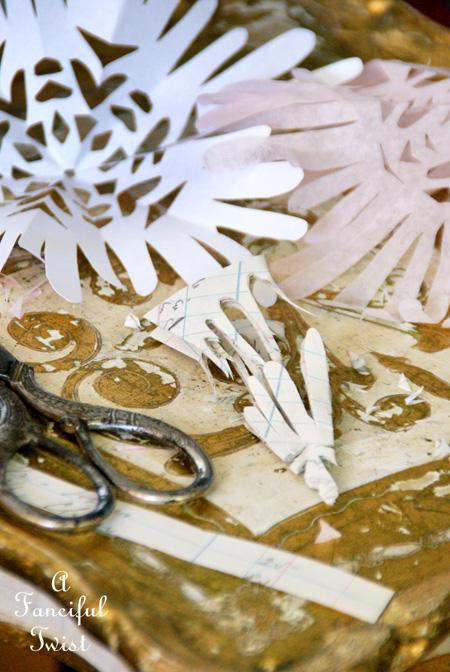 Paper snowflakes 3