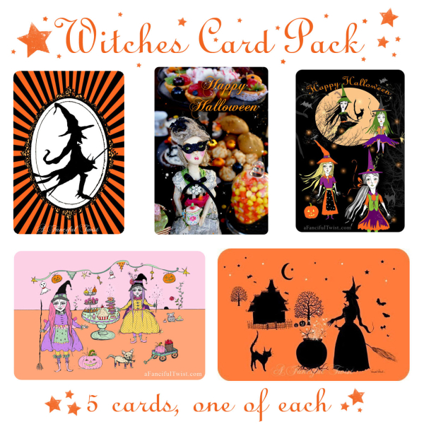 Witches card pack